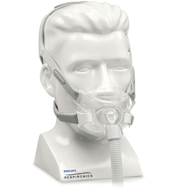 maschera facciale cpap