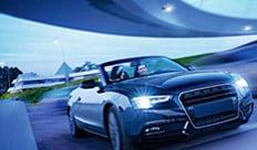 Audi a p bj luci interne scomparto interno auto luce