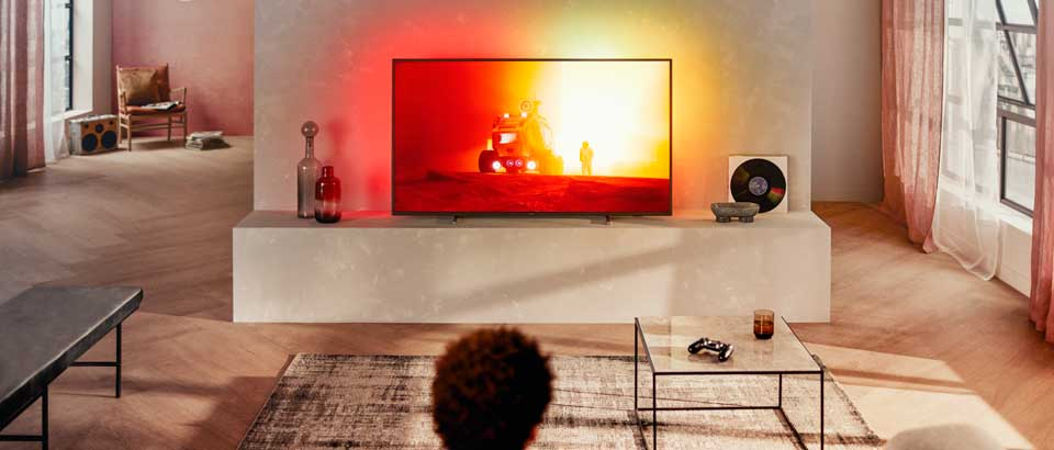 TV Philips Ambilight | Il migliore TV per film e serate cinematografiche