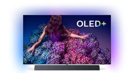 Smart TV Philips OLED+ 934 4K con Android e audio Bowers & Wilkins