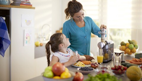 Philips-Microjuicer-in-uso